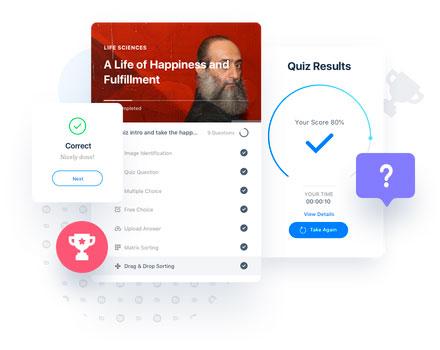 Soluciones eLearning | Cuestionarios